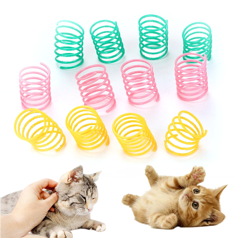 Interactive Cat Feather Toy Feather Teaser Stick Wand Pet Retractable Feather Bell Refill Replacement Catcher Product For Kitten 3