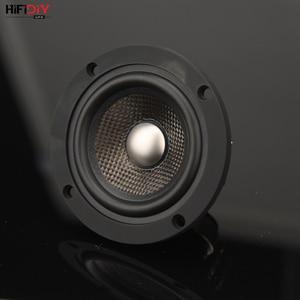 Image 5 - HIFIDIY לחיות neodymium 3.7 אינץ 93mm מלא תדר רמקול יחידה 4OHM30W גבוהה אלטו בס רמקול P3 93N טיטניום סיבי פחמן