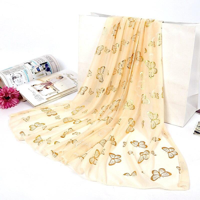 Girita Women's Fashion Silk Scarves Women  Square Head Hijab Scarf Ladies Chiffon Shawl Wrap Muffler Pareo Bandanna Female