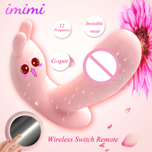 Remote Control Vibrator Womanizer 12 Speed Vibration Wearable G Spot Clitoris Vibrating Massager Erotic Sex Toys For Woman