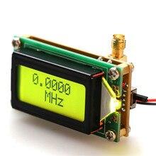 Probador de contador de frecuencia de alta precisión, módulo medidor de RF, módulo de medición, pantalla LCD con retroiluminación, 1-500MHz