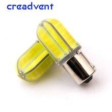 2 шт. яркие 1156 BA15S P21W светодиодные задние лампы для автомобиля тормозной светильник s авто задний фонарь дневной ходовой светильник красный белый желтый
