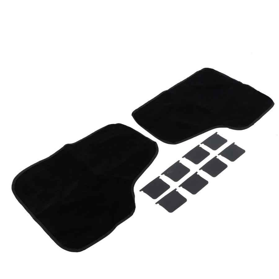 2 pièces en daim tissu pliant chien chat couverture de porte de voiture Scratch garde protecteur tapis de Protection lits pour chiens
