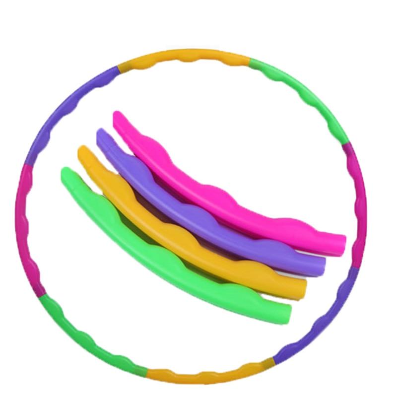 NEW Detachable Hula Hoop Adult Children Fitness Circle Plastic Massage Gymnastics Hula Hoop Toy