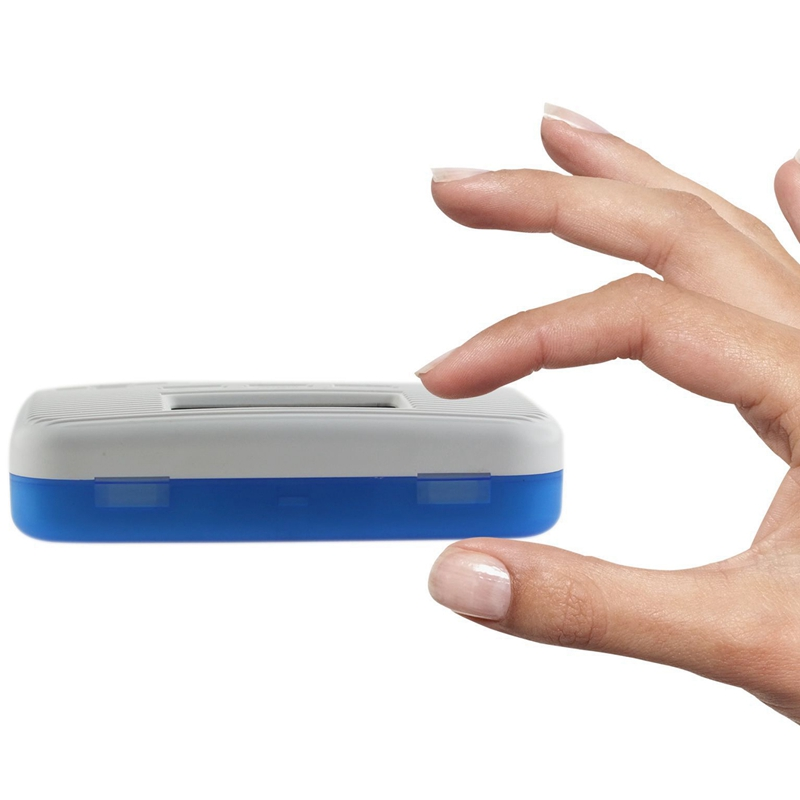 Dust Proof 6 Grid Pill with Electronic Timer and Alarm Reminder for Keeping the Medicines Safely 2