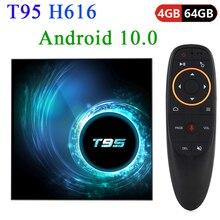 T95 TV Box Smart Android 10.0 4GB 32GB 64GB Allwinner H616 Q