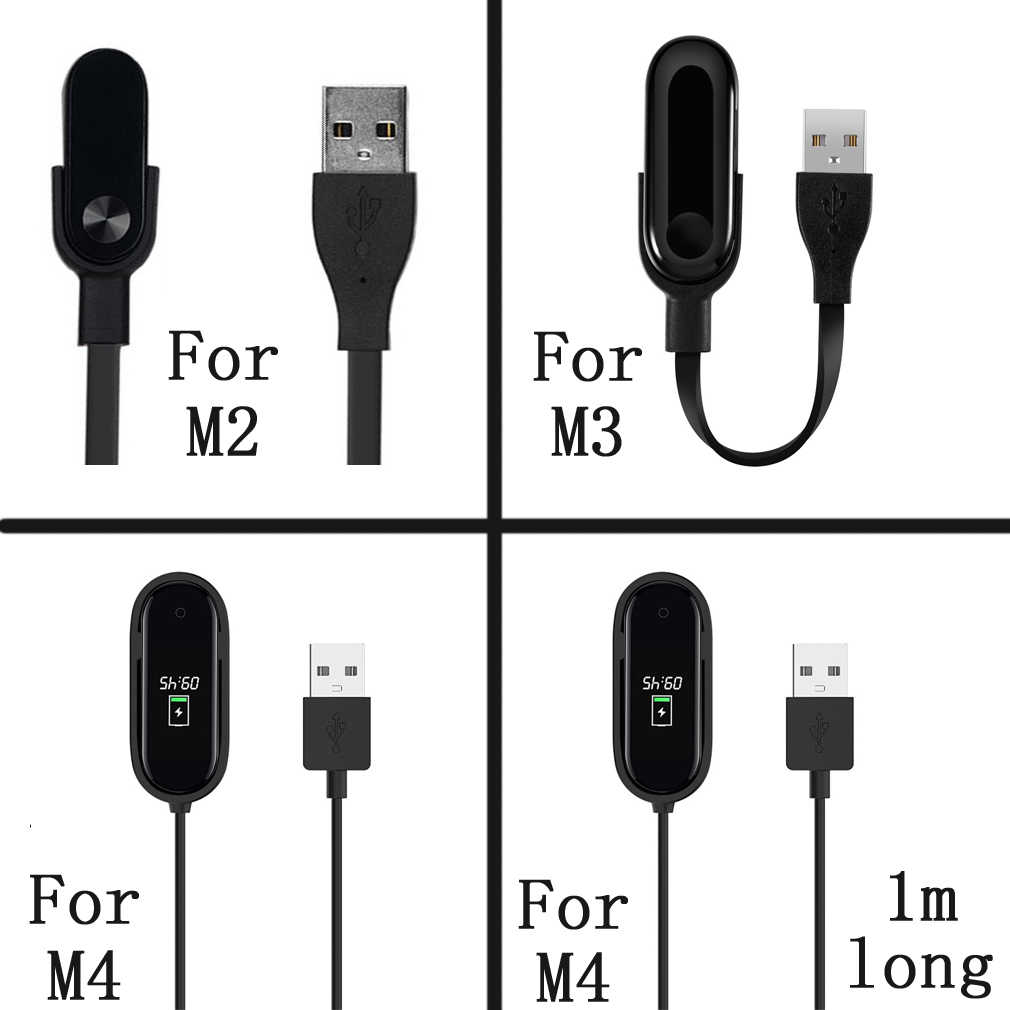 Per M2/M3/M4 Sostituire cavo del caricatore per Xiao mi mi band 2/3/4 usb di RICARICA veloce cavo Accessori per Articoli Elettronica Smart per Xiao mi band 2/3/4