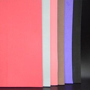Image 5 - CONTEMPLATOR 12 farben 2mm dicke fliegen binden schwimm Schaum 4 blätter/pack EVA platz papier fliegen angeln materialien für gras trichter
