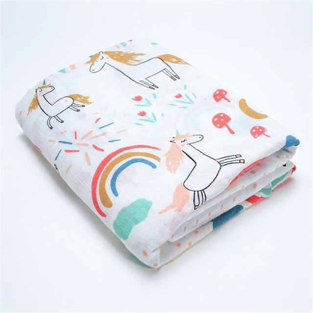 Muslin Baby Blankets Swaddles Newborn Photography Accessories Soft Swaddle Wrap Organic Cotton Baby Bedding Bath Towel Swaddle For All (0-3 years) Nursery Shop by Age Swaddle Blankets