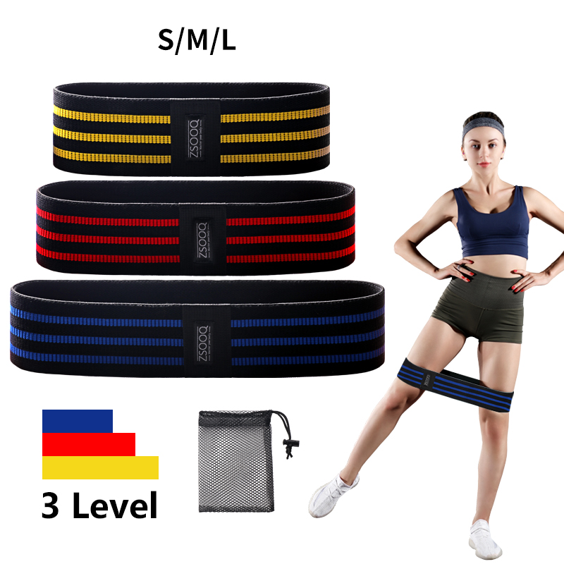 Fabric Booty Resistance Bands Hip Circle Exercise Cotton Bands Thigh Butt Squat Fitness Rubber Bands Elastic Workout Glute Loop|Resistance Bands|   - AliExpress
