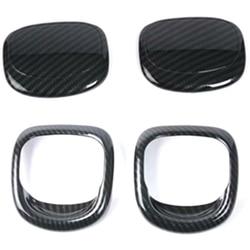 Seat Release osłona klamki wykończenia dla BMW MINI Cooper S 3DR F56 F57 ozdobne listwy wewnętrzne do samochodów części uchwyt z włókna węglowego wykończenia