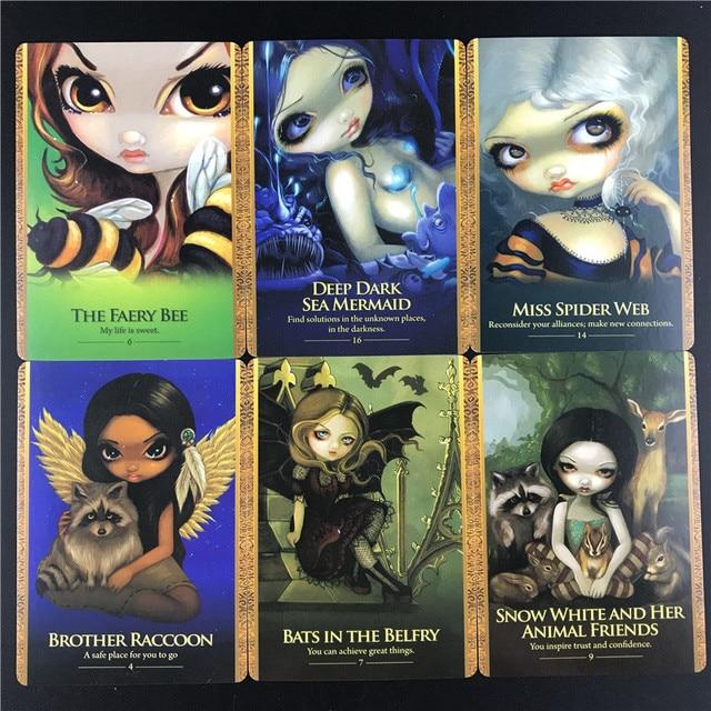 Συλλογή από κάρτες μαντείας oracle