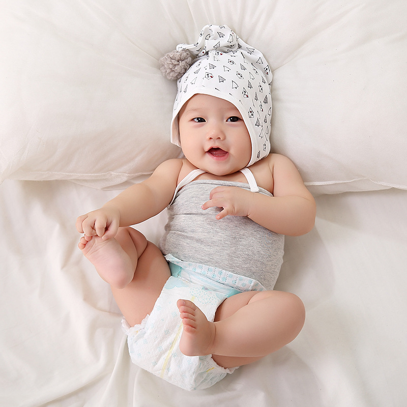 2018 Infant Bellyband Solid Color Infant Umbilical Cord Care Navel Pinafore Autumn And Winter Summer Newborns Bellyband Children
