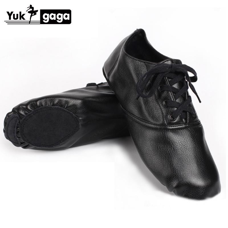 2020 Soft PU Dance Jazz Shoes Ballet Shoes for Men Women Children White Black TanSport Sneakers Gymnastics Fitness Shoes