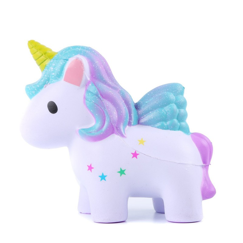 Baby Toy Lovely Cream Scented Unicorn Slow Rising Squeeze Anti Stress Soft Toys Funny Gadgets Kawaii