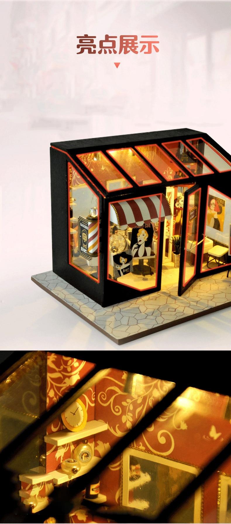 H0b27f6e4567c4c87a35f1ab7125bc8ac2 - Robotime - DIY Models, DIY Miniature Houses, 3d Wooden Puzzle