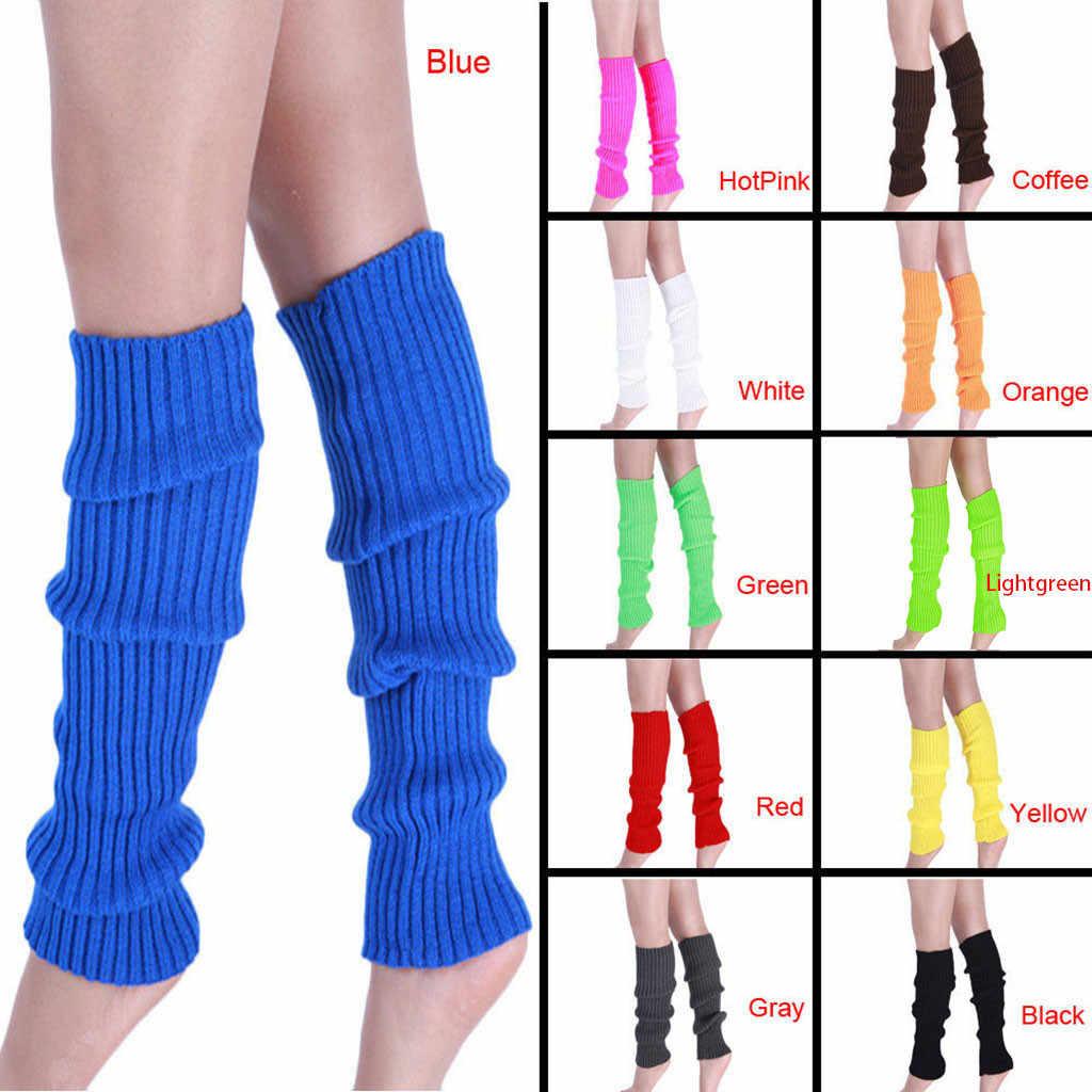 Yüksek kaliteli bot paçaları kadınlar kış sıcak bacak ısıtıcıları örme tığ uzun çorap yüksek dizlikli çorap 2019 sıcak satış moda hediye