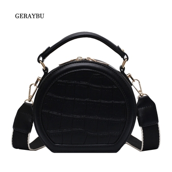 Crossbody Bag Ladies Fashion Crocodile Temperament Female Shoulder High Quality Waterproof Handbag Simple Black
