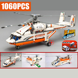Image 2 - New Motorized Power Function Rescue Helicopter Fit Technic City Model Bricks Building Block Boy DIY Toys Kid Gift Birthday Boys
