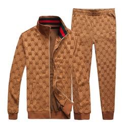 Starbags double GG letter 2020, новый спортивный костюм с модным логотипом на боку, куртка с длинными рукавами, длинные штаны, мужской костюм