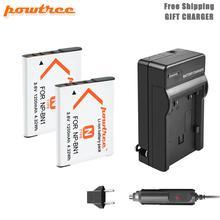 цена на powtre 1200mAh NP-BN1 NPBN1 BN1 Battery+Battery Charger+Car for SONY DSC TX9 T99 WX5 TX7 W390 W380 W350 W360 QX100 W370 W730 L50