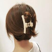 Модные геометрические крестообразные заколки для волос пластиковые