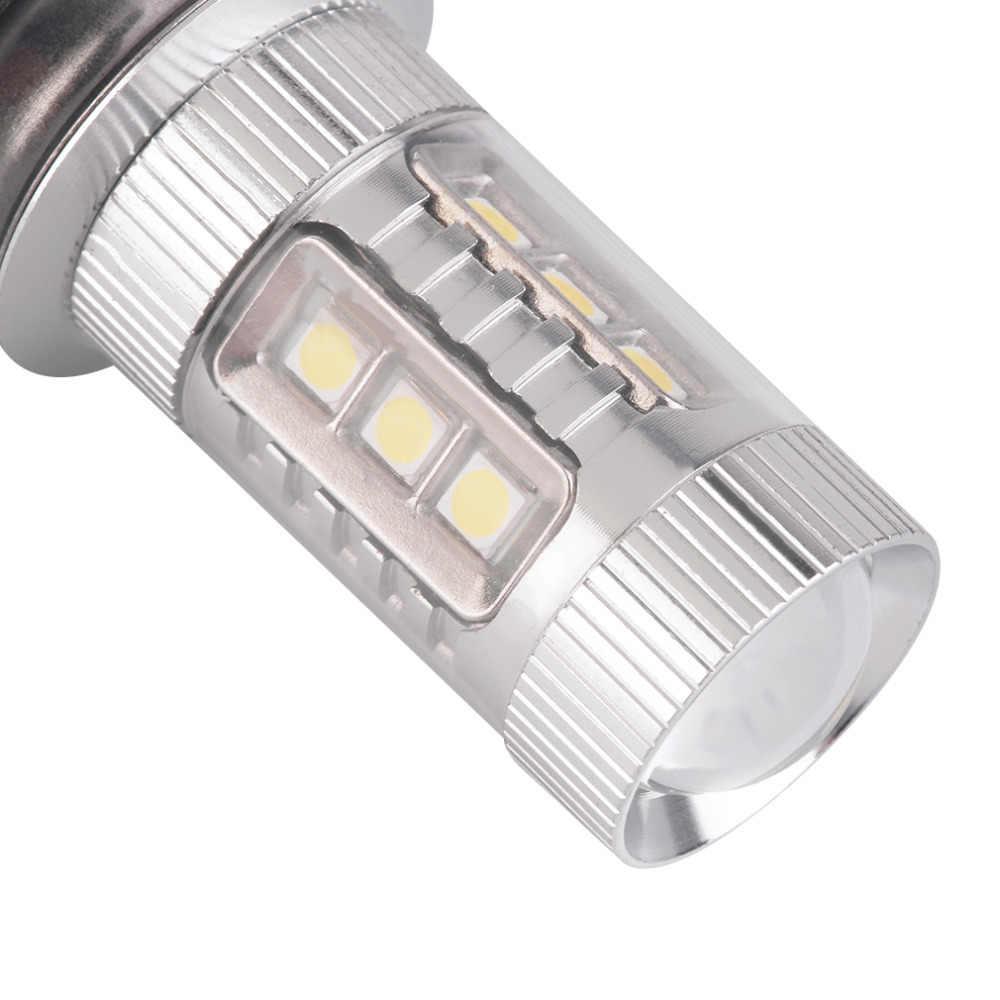 1pc 12V 80W Car H4 Led Headlight Bulbs White H4 9003 HB2  LED Fog Light Bulb 1200LM High Low Beam Headlight