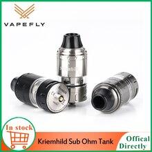 Original Vape Atomizer Vapefly Kriemhild Sub Ohm Tank with 5ml Juice Capacity & 26mm Diameter Electronic cigarette Tank