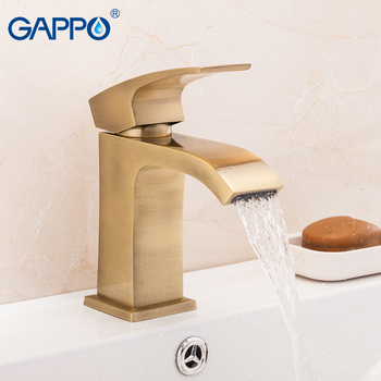 GAPPO basin faucet bathroom faucets deck mounted mixer waterfall faucet basin sink bath mixer tap faucets 7
