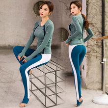 Autumn Winter Women Yoga Set Sweatshirt+sweatpant Jogger Running Fitness Gym Workout Outfit Sportswear Sport Suit Leggings