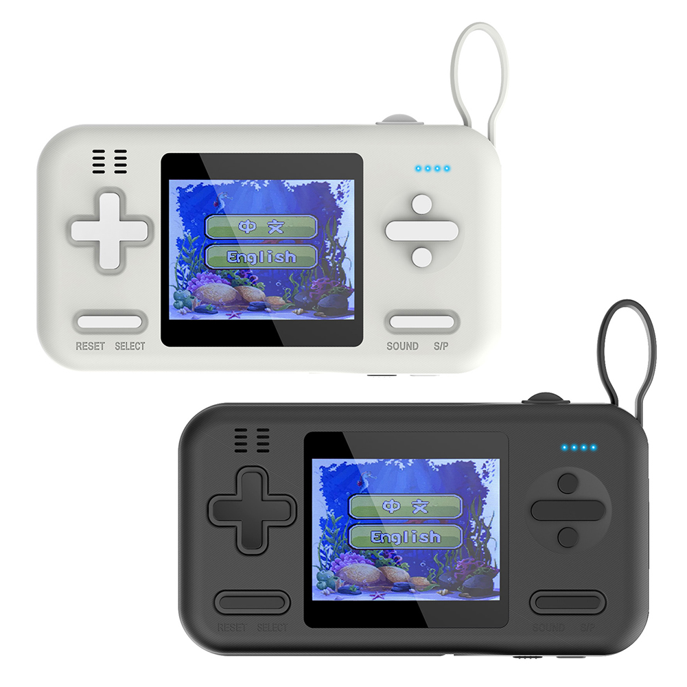 Portable Mini Handheld Game Console 416 Video Games Player with 8000mAh Power Bank Retro Handheld Mini Game Console Retro
