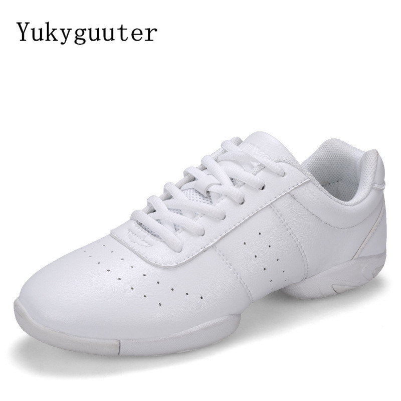 Dance Shoes Woman Men Ladies Modern Soft Outsole Jazz Sneakers Aerobics Breathable Lightweight Female Dancing Fitness Sport