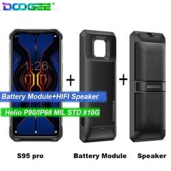 Перейти на Алиэкспресс и купить doogee s95 pro android 9 mobile phone ip68/ip69k 6.3inch display 5150mah octa core 8gb 128gb modular rugged mobilephones 48mp
