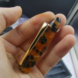 Image 2 - Пользовательские смолы авторучка чернильная ручка с #5 F Шмидт перо и Шмидт конвертер Канцтовары офисная школа