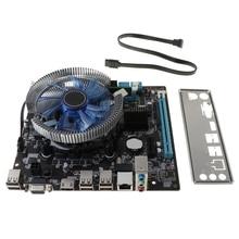 Computer Lga 1156 Desktop I5 HM55 4G Mainboard Fan Game-Assembly-Kit Cooler Memory Atx