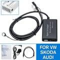 Bluetooth Aux адаптер автомобильный музыкальный цифровой CD Changer Mic USB интерфейс автомобильный комплект свободные руки для VW для Skoda для Audi для сиде...