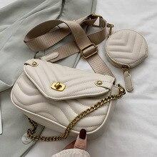 Textured popular small bag girl new trend network red summer shoulder bag chain slanted bag bag for women