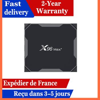 X96 max plus iptv box 4GB 64GB Android 9 0 TV Box procesor Amlogic S905X3 m3u x96max plus 4G 32G smart ip zestaw pudełkek pod telewizor tanie i dobre opinie 100 M CN (pochodzenie) Procesor Amlogic S905X3 Quad-core 64-bit 32 GB eMMC 64 GB eMMC HDMI 2 0 4G DDR3 x96 max+ 0 5 kg 1x USB 2 0