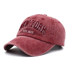 baseball cap letters embroidered curved eaves cap Chaozhou brand sunshade cap for men and women couples duck tongue cap winter men and women high quality labeling pure cotton baseball cap curved eaves fashion hat