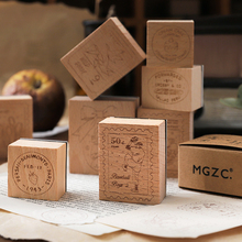 Positata-Post Scrapbooking Stamp Stationery Wooden for DIY Office-Series 10pcs/Lot
