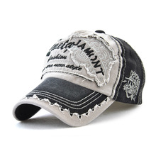 Baseball Cap Tiger Head Embroidery Men Women Snapback Hat Vintage Patch Cotton Outdoor Casual CapGorro