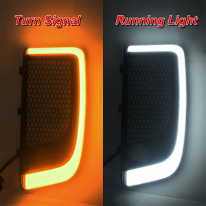Image 5 - אופנוע LED Fairing נמוך גריל הפעל אות אור מקרה להארלי סיור אלקטרה Glide Ultra קלאסי רחוב Glide FLHTCU