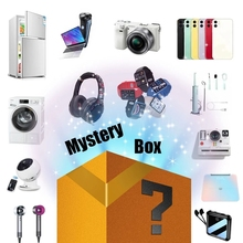 Novelty Lucky Box Digital Electronic Mystery Case Random 1PC Home Item There is A Chance to Open Iphone| Earphone| Watch etc
