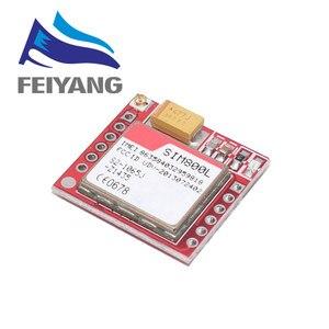 Image 3 - 10 шт. самый маленький SIM800L GPRS GSM модуль карта Micro SIM Core плата четырехдиапазонный TTL последовательный порт