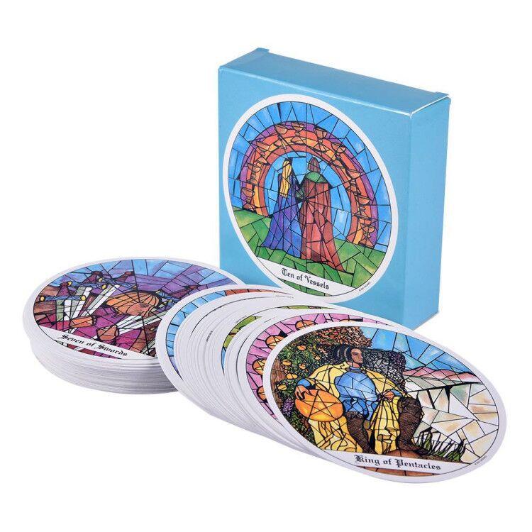 78 Pcs carte tarocchi dei zoccoli carte gioco da tavolo 1993 carte rotonde carte da gioco giochi di mazzo intrattenimento per regali per feste in famiglia