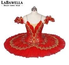 赤 paquita 盛り合わせステージ衣装 BT8941E 古典的なプロのバレエチュチュ女の子スペインバレリーナ nucracker 子供