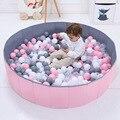 Infant Glänzende Kugel Gruben Spielen Spiel Spielzeug Faltbare Ozean Ball Pool Laufstall Spielzeug Waschbar Falten Zaun Kinder Geschenk Ohne Ball