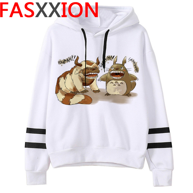 Totoro Studio Ghibli hoodies women streetwear grunge femme hoody sweatshirts hip hop streetwear 3