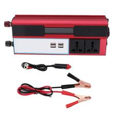 4000W Solar Power Inverter Wave Digital Display Phone 4 USB Charger 220‑240V