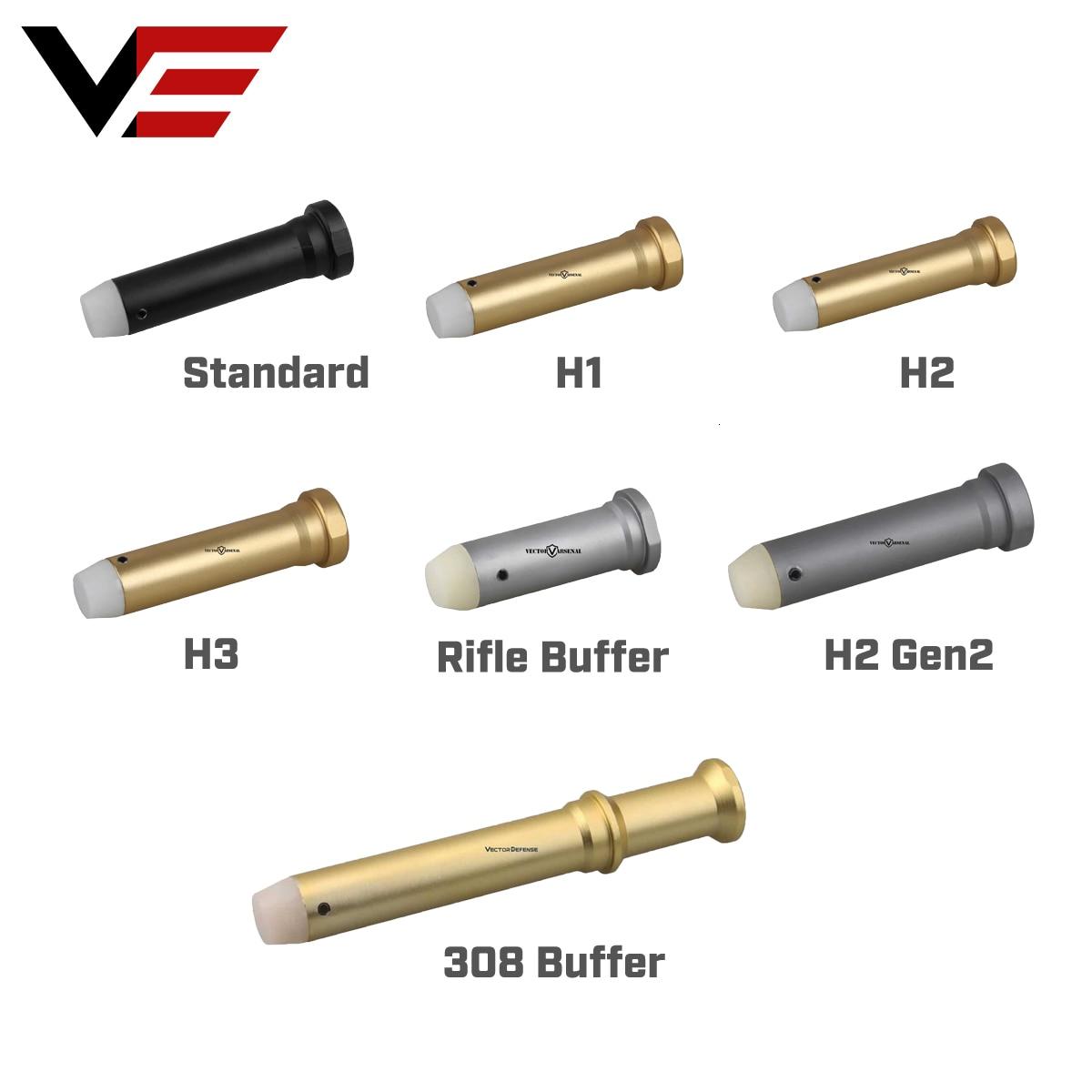Vector Optics Recoil Standrand H1 H2 H3 308 Buffer For .223 5.56 AR15 AR10 M4 Carbine